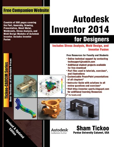 Read Online Autodesk Inventor 2014 for Designers pdf