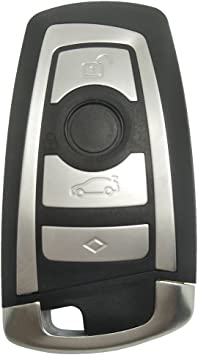 New Replacement 3 Buttons Keyless Entry Remote Key Fob Shell Case Blade for BMW