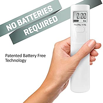 Battery Free The Shake Me Luggage Scale Just Shake & Weigh, No batteries EVER!