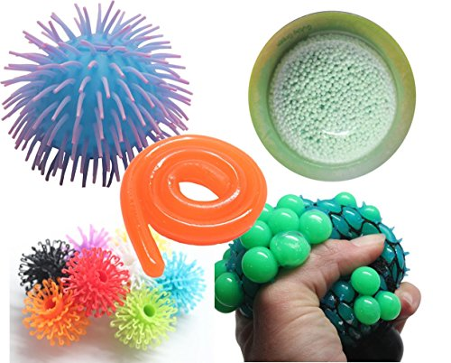 Sensory Bundle #2 - Tactile Toy Assortment Bundle for Sensory Processing Disorder Sensory Integration Therapy