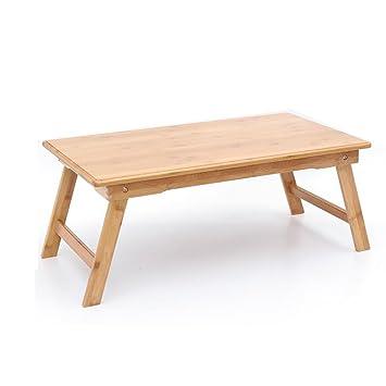 Amazonde Gfl Laptop Tisch Bambus Klappbett Arbeitstisch Holz