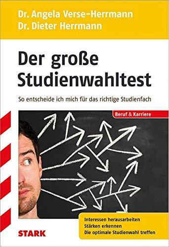 Dieter Herrmann/Angela Verse-Herrmann: Der große Studienwahltest