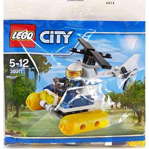 LEGO City Swamp Police Helicopter Mini Set #30311