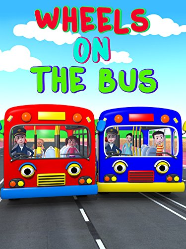 - Nursery Rhyme - The Wheels On The Bus - Nursery Rhymes And Kids Song Video 3D - Learning Colors Bus