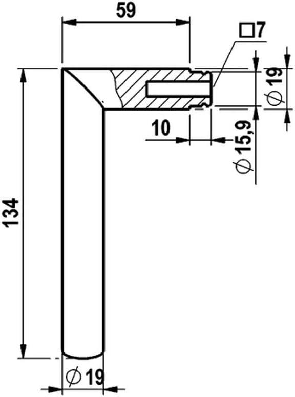 T/ürdr/ücker dunkel matt silber Rosetten-Garnitur gebogenes Design Dr/ückergarnitur T/ürklinke W/ürth T/ürdr/ücker A 207 T/ürgriffe 0688152070 T/ürbeschl/äge Rosetten f/ür Zimmert/ürgarnitur