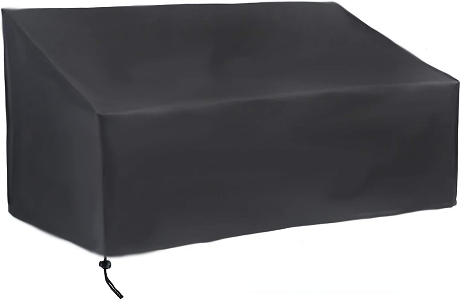 Aidetech Patio Seat Cover, Outdoor 3-Seater Loveseat Bench Cover, Durable and Waterproof Patio Furniture Sofa Cover
