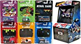 Atari Hot Wheels Comicon Exclusive Asteroids Beach Bomb Pickup SDCC with Breakout - Pong - Missile Command - Centipede - Tempest & 2600 Console GMC Motorhome Nostalgia video Game 7 Car Set