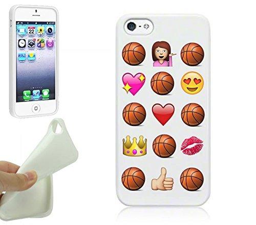 Basketball IPhone 5S Case By NickyPrintsTM