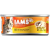 Grocery Gourmet Food Best Deals - IAMS Pate Adult Wet Cat Food, Chicken, 5.5 oz. (Pack of 12)