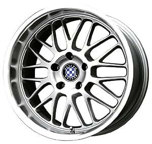 "Beyern Mesh Silver Machined Wheel (18x8.5""/5x120mm)"