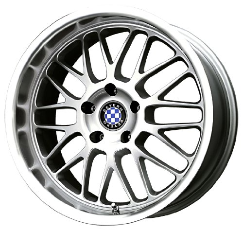 Beyern Mesh Silver Machined Wheel (17x8