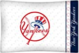 MLB New York Yankees Micro Fiber Top Hat Pillow Case Logo