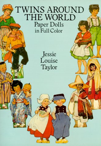 Twins Around the World: Paper Dolls in Full Color