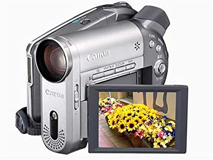amazon com canon dc20 2 2 mp dvd camcorder w 10x optical zoom rh amazon com Canon Elura Canon HF100