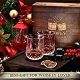 Gifts for Men Dad Grandpa, Whiskey Stones Gift