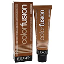 Redken Color Fusion Cream Natural Fashion Hair Color for Unisex, No.4BC Brown/Copper, 2.1 Ounce
