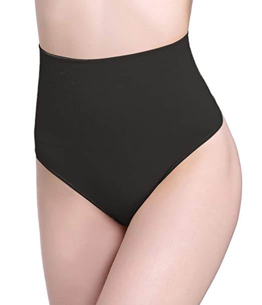 9c8d27fa70816 SAYFUT Women Shapewear High Waist Tummy Tucker Body Shaper Thong Panties  Seamless Underwear Slimming Girdle Bodysuit