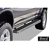 "iBoard Running Boards 5"" Custom Fit 2009-2018 Ram 1500 Crew Cab Pickup 4Dr & 2010-2018 Ram 2500/3500 (Nerf Bars | Side Steps | Side Bars)"