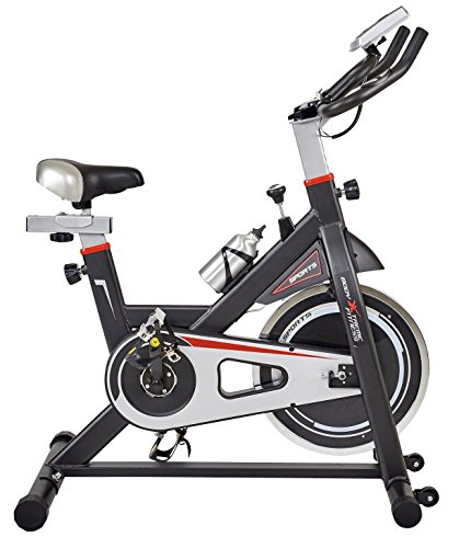 Home Exercise Equipment Usa: Body Xtreme Fitness Black/Silver Home Exercise Bike