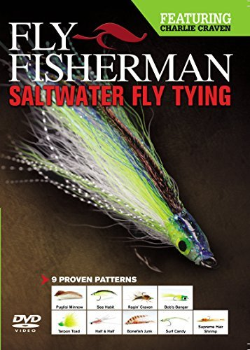 ter Fly Tying DVD by Fly Fisherman Staff (Saltwater Fly Tying Videos)