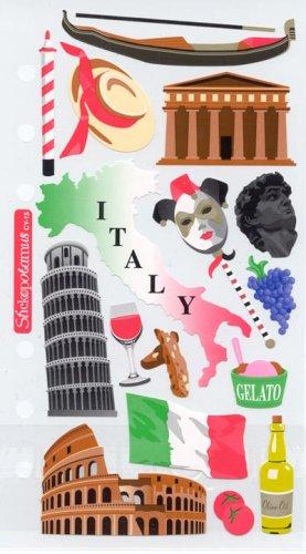 Sticko Destination Stickers Italy