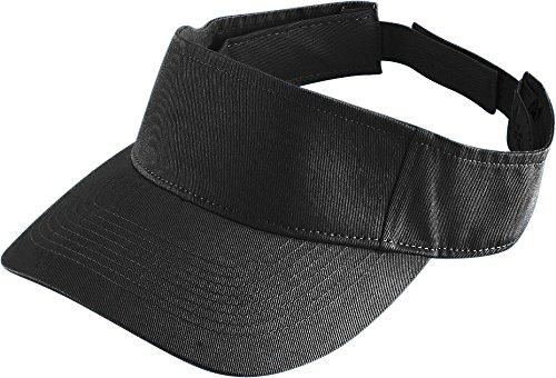 Augusta Sportswear Kids' Sport Twill Visor OS Black