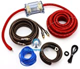 EK35 - Focal Audio 2 AWG (Gauge) Elite Series Amplifier Wiring Kit