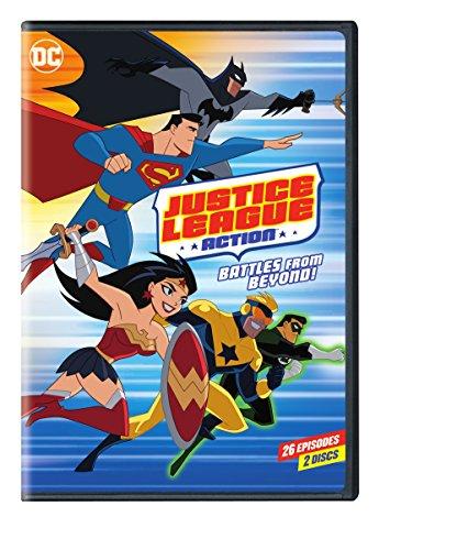 Amazon.com: Justice League: Action Season 1 Part 2 (DVD ...