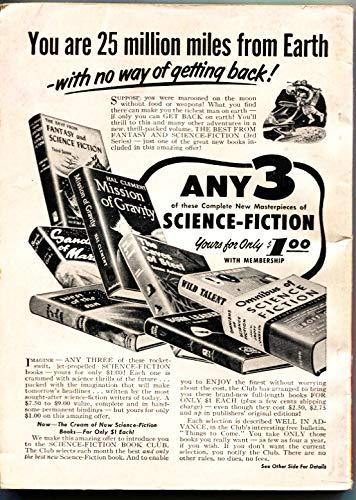 FANTASTIC UNIVERSE SCIENCE FICTION-Oct 1954-Pulp-P J FARMER-PHILIP K DICK