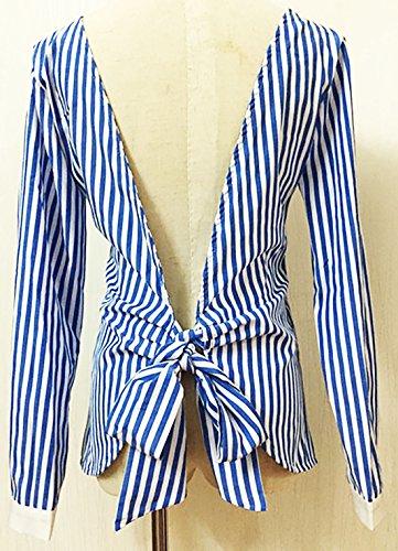 erdbeerloft - Camisas - Opaco - para mujer Azul