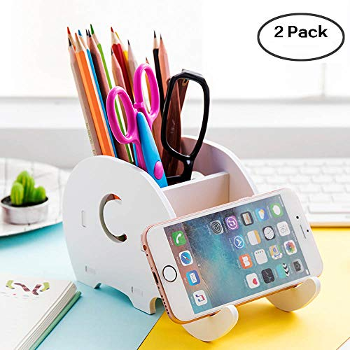 Pen Holders Generous Cell Phone Stand Cute Elephant Phone Stand Tablet Desk Bracket With Pen Pencil Holder Compatible Smartphone Desk Decoration Mu Desk Accessories & Organizer