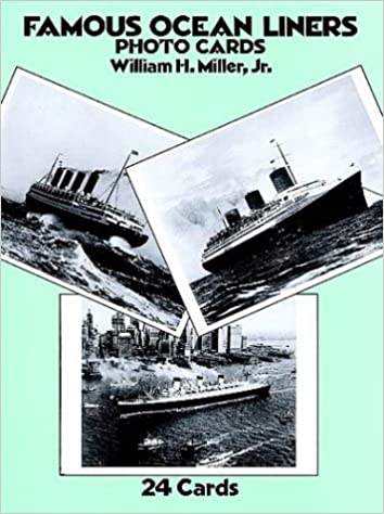 Famous Ocean Liners Photo Postcards (Card Books)