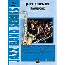 Just Friends Conductor Score Jazz Ensemble Music by John Klenner, lyrics by Sam M. Lewis / arr. Joe Jackson