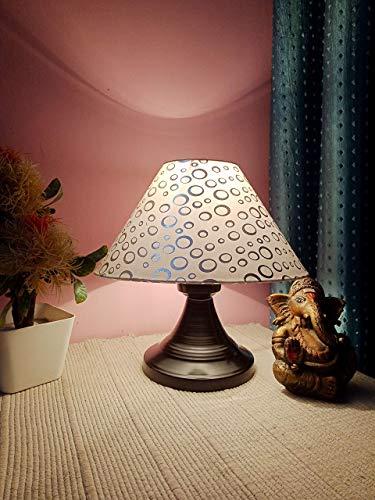 M2 Look Metal Table Lamp, Silver;Black, Pack of 1