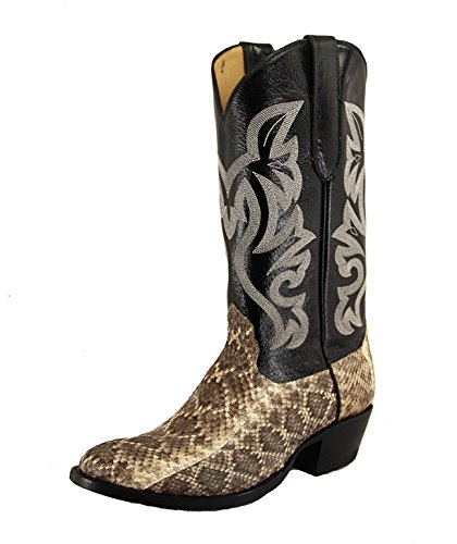 Cowtown Men's Diamond Back Rattlesnake Cowby Boots -
