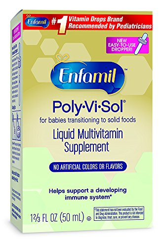 Enfamil Poly-Vi-Sol Liquid Multivitamin Supplement 50 mL