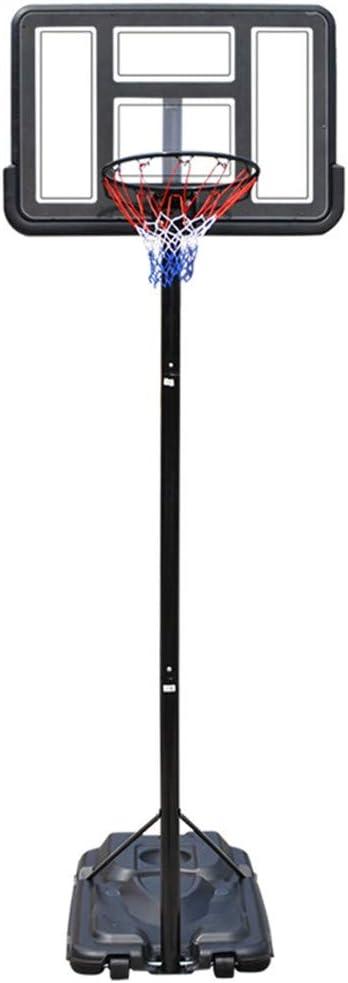 バスケット ゴール バスケット ボール 高さ調整可能 190cm ~ 305cm 屋外用 スポーツ までポータブルゴール