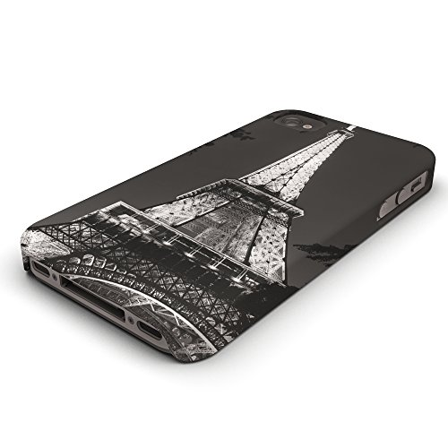 Koveru Back Cover Case for Apple iPhone 4/4S - The Eiffel Tower France