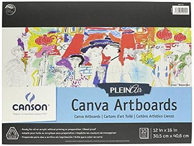 CANSON Plein Air Art Board Canvas Pad