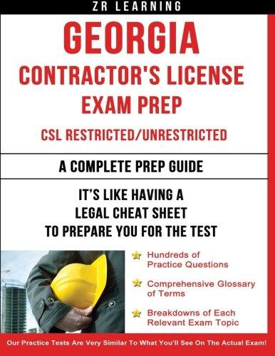 Georgia Contractor's License Exam Prep