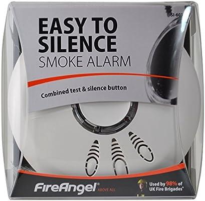 Fireangel SI-601 - Alarma detector de humo con batería incluida