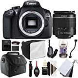 Canon EOS 1300D 18MP Digital SLR Camera with 18-55mm EF-IS STM Lens and Accessory Bundle