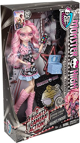Monster High Frights, Camera, Action! Viperine Gorgon Doll (Discontinued by manufacturer) (Monster High Gigi)