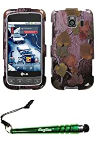 FoxyCase(TM) FREE stylus AND LG LS670 (Optimus S) Hunter Phone Protector Cover cas couverture