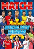 Match! Football Magazine Official Soccer Superstars 2020 Calendar - Includes Ronaldo, Messi, Mbappe, Salah, Mane, Rashford, Virgil, Hazard, Sterling & more! (17 by 12 inches)