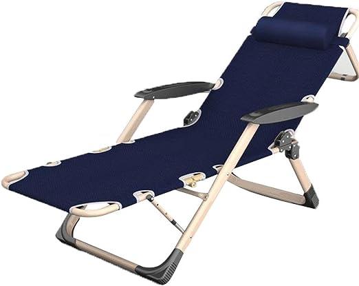 Silla abatible reclinable plegable ajustable con almohadillas de ...