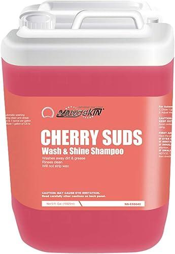 Nanoskin CHERRY SUDS Wash & Shine Shampoo NA-CSS640, 5 Gallons