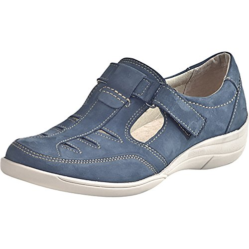 Comfortabel 941199 Damen Slipper Blau