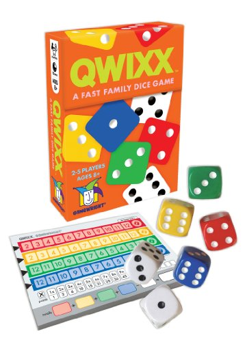 Qwixx Fast Family Dice Game product image