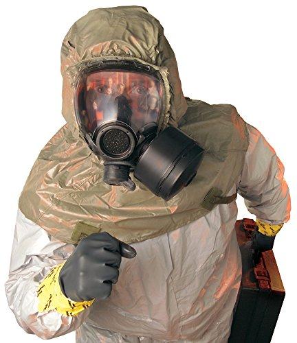 MSA Safety 10051286 Millennium Riot Control Gas Mask, Small, (Riot Control Mask)